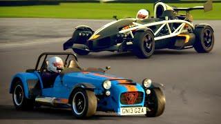 Caterham 620R  vs. Ariel Atom 3.5R - Fifth Gear