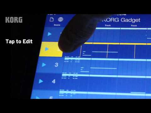 Introducing KORG Gadget for iPad