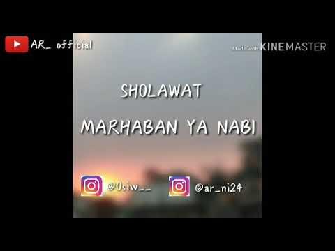 Cover Sholawat Marhaban Ya Nabi
