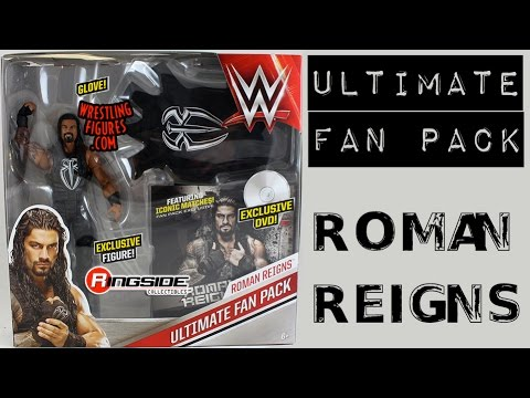 WWE Roman Reigns Ultimate Fan Pack Action Figures