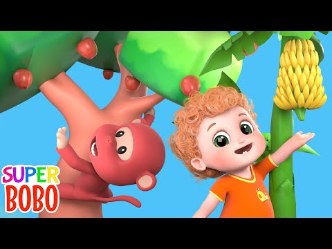 Apples And Bananas Two + More Nursery Rhymes & Kids Songs - Blue Fish