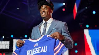 Bills take Greg Rousseau at 30   Why did they like him? Why not trade down?