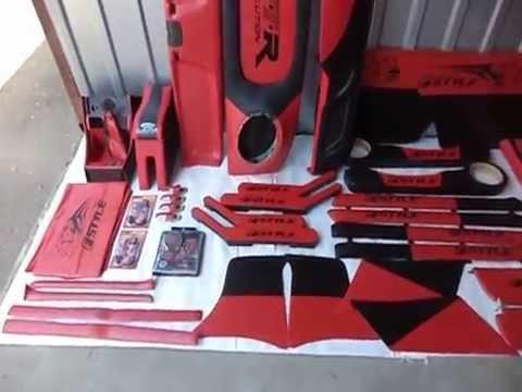 Cмотреть видео Полный тюнинг салона ВАЗ 2101, 2105, 2106, 2107 красный