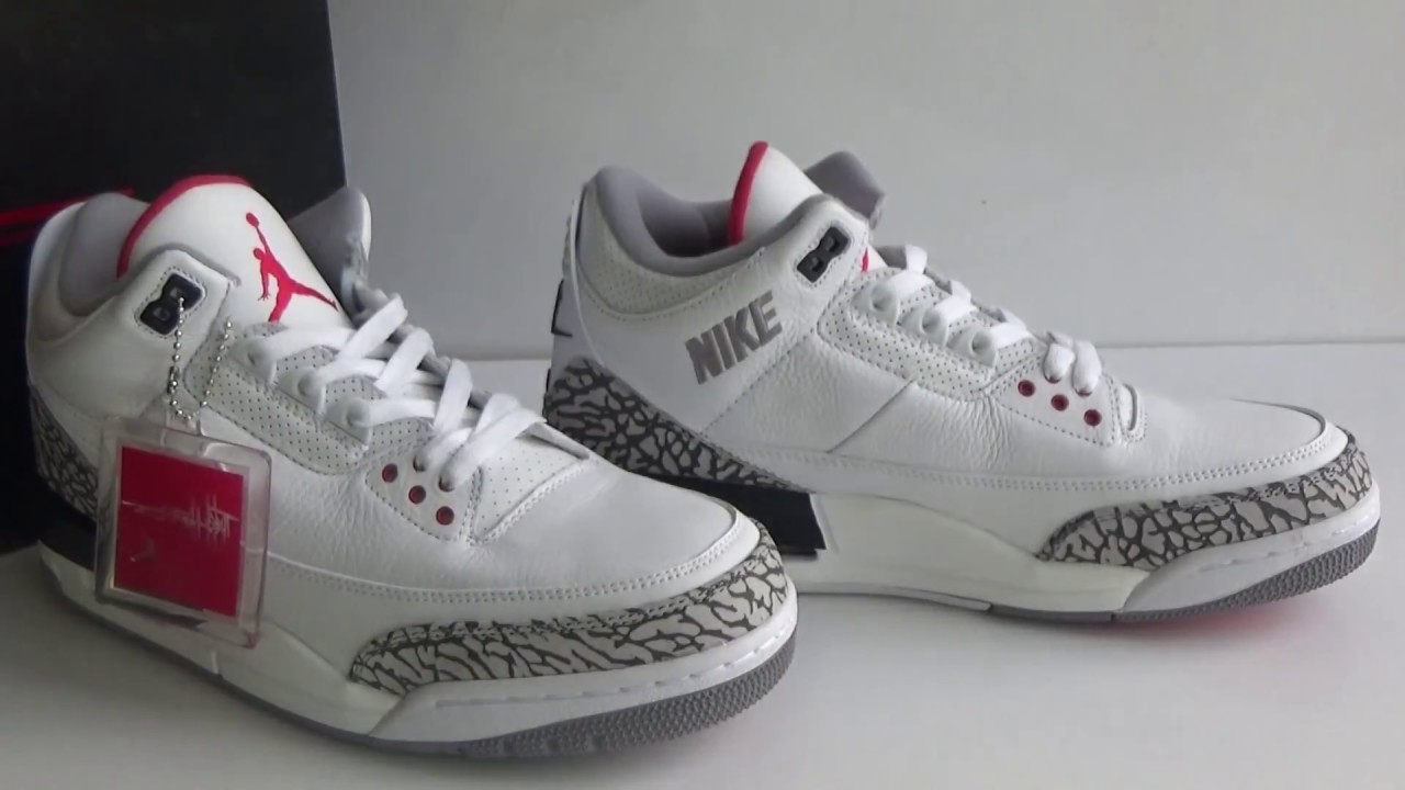 f29f67a0be64a8 Authentic Air Jordan 3 JTH NRG Fire Red Review from www.sneakersalon ...