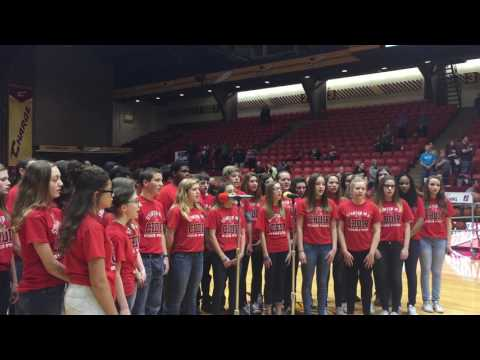 Stanton MS Anthem at the Canton Charge - Feb. 28, 2017