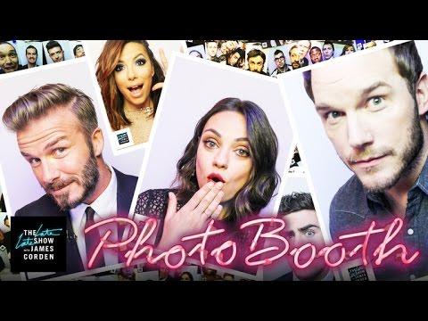 Year One of The Late Late Show Photo Booth