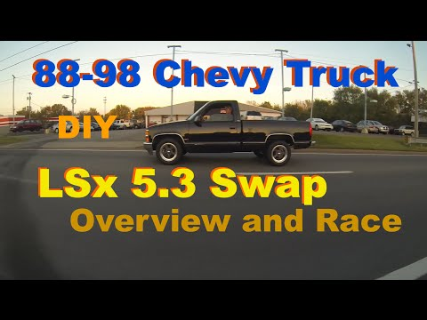 88-98 Chevy Truck 5.3 LS Swap Parts Overview - Richard Wiley's OBS