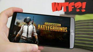 Playerunknown's battlegrounds на андроид!