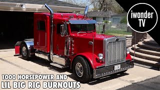 The Smallest Mini Truck You'll Ever See Doing Big Burnouts | Custom Lil Big Rig