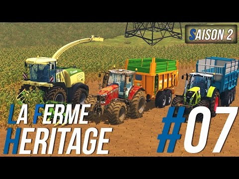 Farming Simulator 15 | La Ferme Héritage | Épisode 7 S2 | Ensilage de mais ! (RôlePlay)