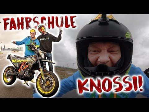 KNOSSI RASTET AUS! | Erstes Mal Motorrad!