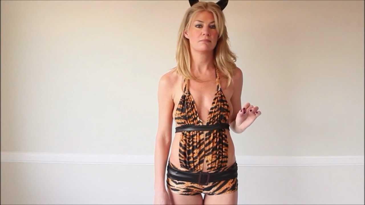 kendras closet naughty tigress halloween costume - Tigress Halloween Costume