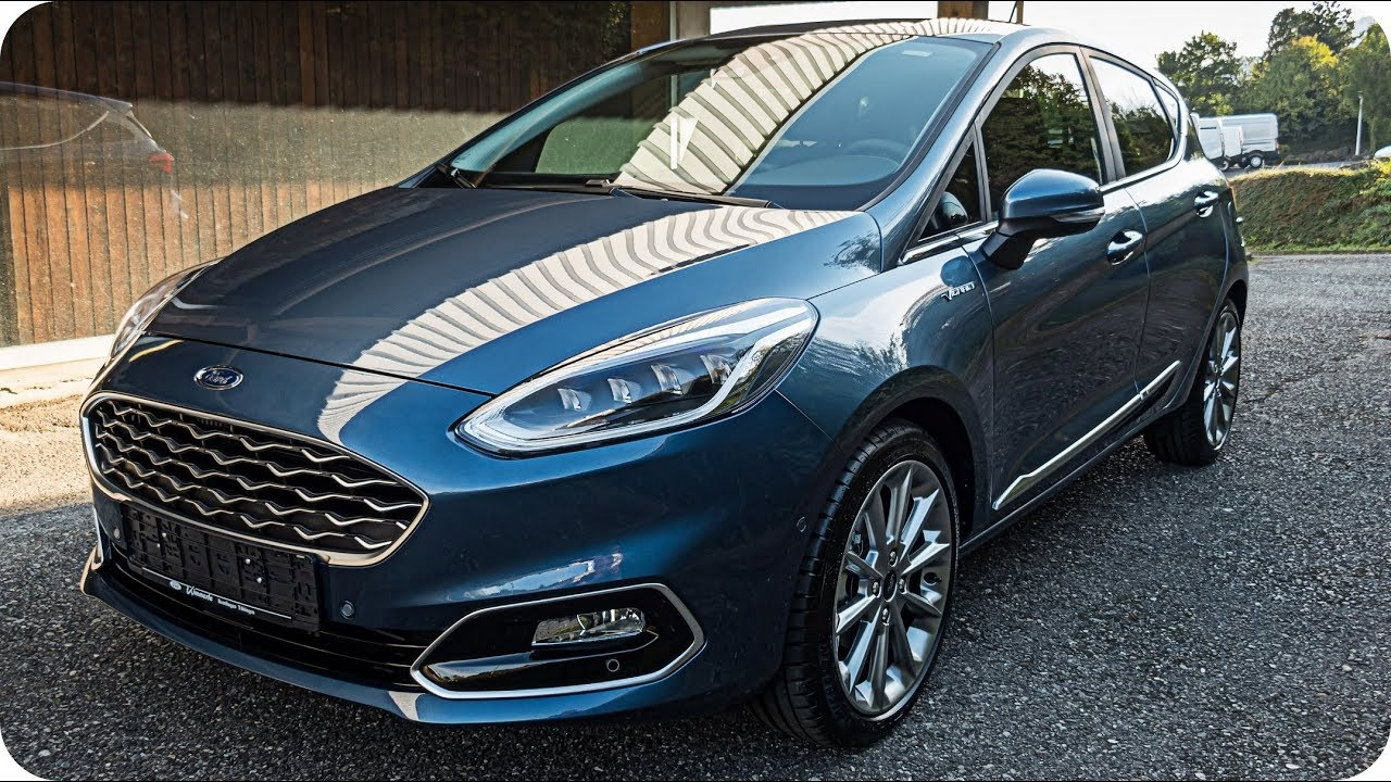 2019 ford fiesta vignale led light chroma blue 4k youtube. Black Bedroom Furniture Sets. Home Design Ideas