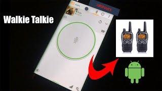 Walkie Talkie  en android - Zello con sonidos personalizados 2018