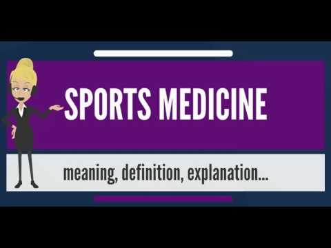 What Is Sports Medicine What Does Sports Medicine Mean Sports
