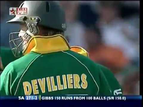 Chase 434 Runs : South Africa Vs Australia : World Record: highlights Part - 2