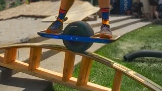 One Wheel Hoverboard Tricks