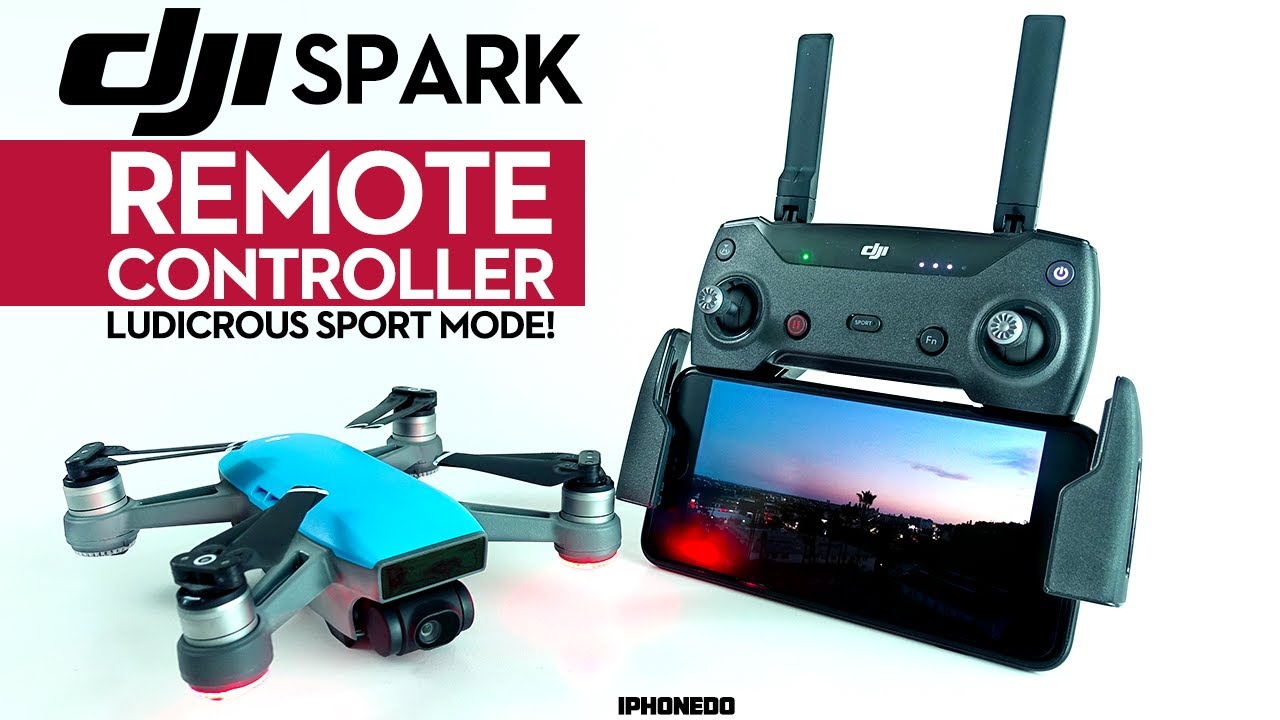 466ff880321 DJI Spark w/ Remote Controller — Sport Mode is Ludicrous! [4K] - YouTube