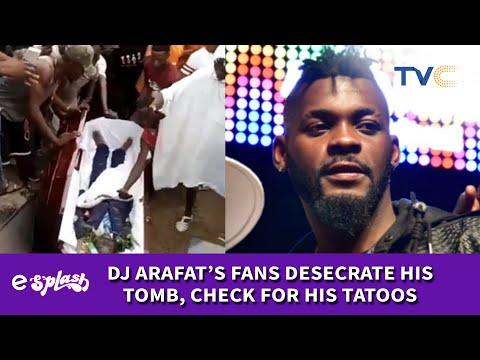 Fans Disrupt DJ Arafat's Burial, Rip Coffin Open