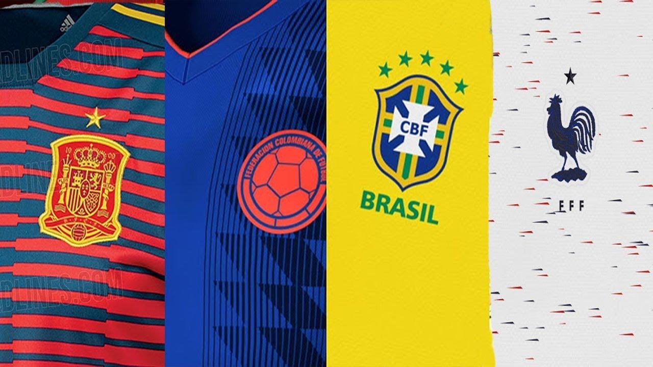 nuevas camisetas nike para el mundial
