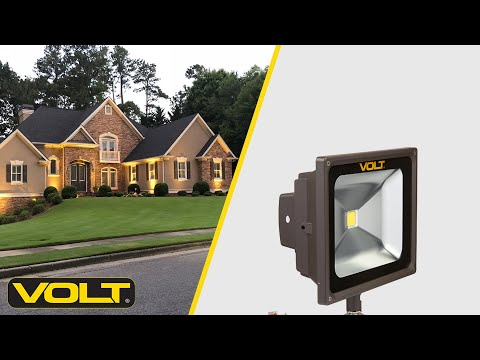VOLT® What's In The Box? | 30W 120V LED Flood Light with Knuckle