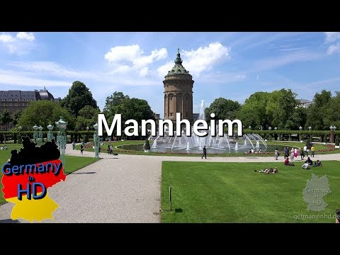 Mannheim in 4k UHD [GermanyinHD.de]