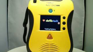 Defibtech Lifeline VIEW AED Battery Check
