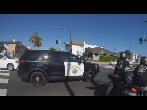TOP 8 Motorcycle VS Cops Bike POLICE CHASE Bikers On Freeway Caught On Camera 2018 🏍️VS🚔👮‍🚨🚓