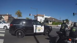 TOP 8 Motorcycle VS Cops Bike POLICE CHASE Bikers On Freeway Caught On Camera 2018 🏍️VS🚔👮🚨🚓