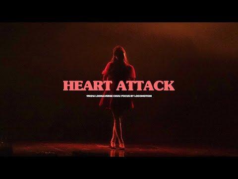 190216 Heart Attack Loona Chuu Focus 하트어택 이달의소녀 츄 직캠 @ Loonaverse