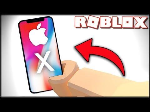IPHONE X JE V ROBLOXU?! - Roblox: Escape The iPhone X