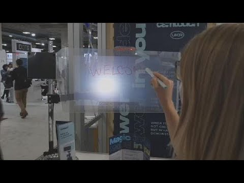 Projector turns any surface into screen