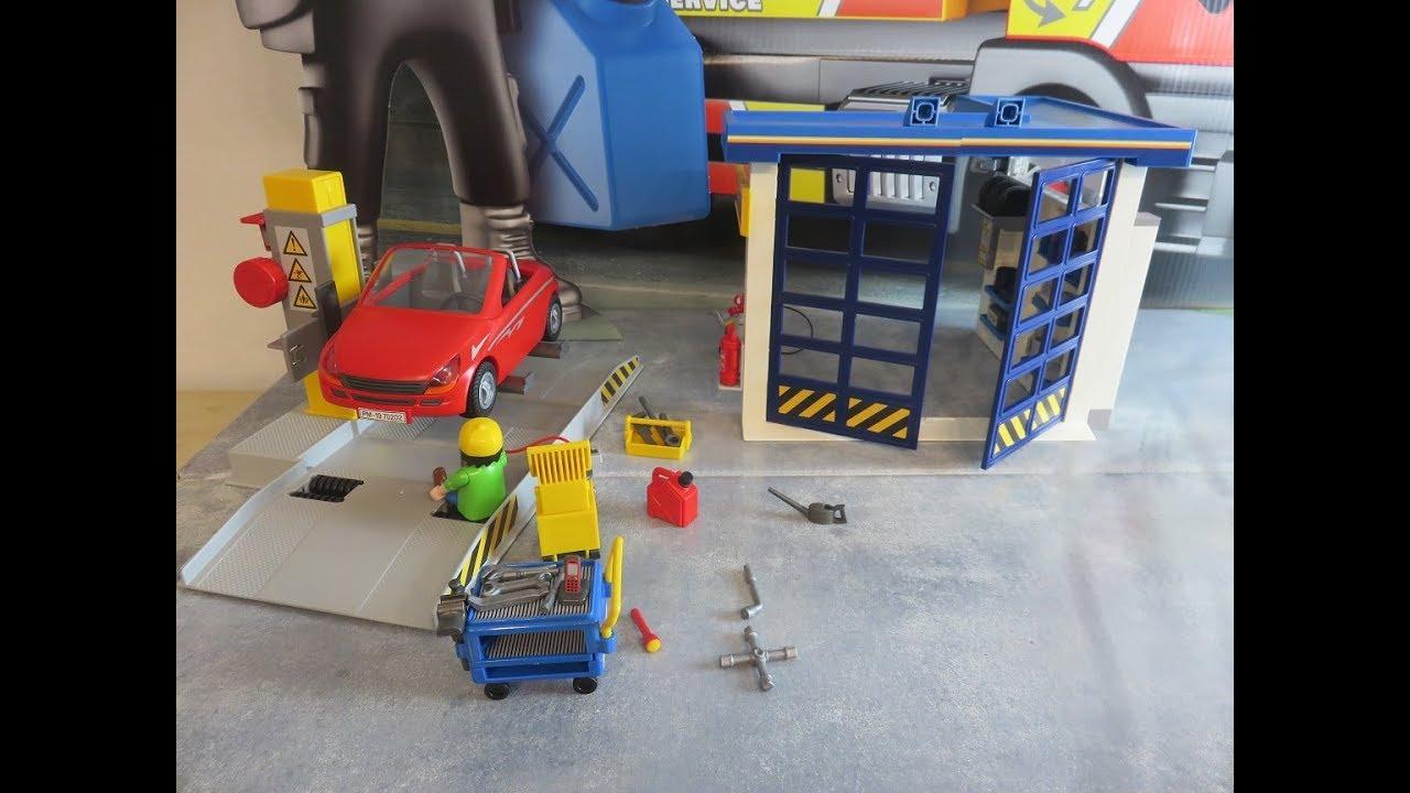 playmobil autowerkstatt