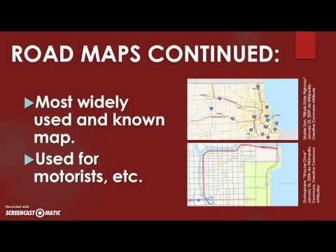MAPS: Basics of Geography (EDU 290: CMU)