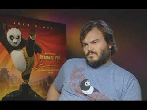 Jack Black - Fun Interview for Kung Fu Panda