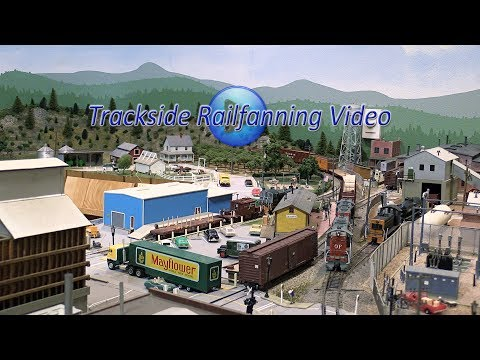 A Great Model Railroad, the Oregon Pacific Railroad in HO Scale