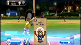 Little League® World Series Baseball 2009 (Nintendo Wii) - Tounament Mode - Game 3 - Part 1