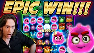 RECORD WIN!!! REACTOONZ BIG WIN - HUGE FAIL from CasinoDaddy Live Stream