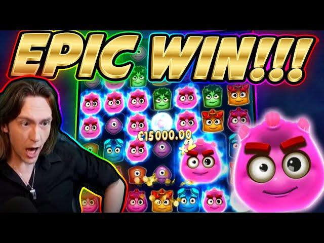 RECORD WIN!!! REACTOONZ BIG WIN - HUGE FAIL from CasinoDaddy Live Stream