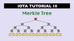 IOTA tutorial 18: Merkle Tree