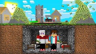 КОМПОТ И ТОПОВСКИЙ ПЕРЕЖИЛИ ИЗВЕРЖЕНИЕ ВУЛКАНА ИЗ ДЕНЕГ В МАЙНКРАФТ 100% Троллинг Ловушка Minecraft