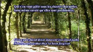 Ariette Oubliée No 4 by Paul Verlaine music by D W Solomons alto and guitar
