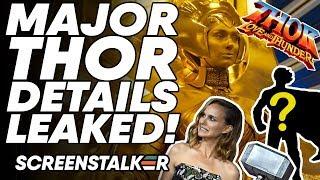 MAJOR Thor: Love And Thunder Details LEAKED! Apex Legends Fan BACKLASH! | ScreenStalker
