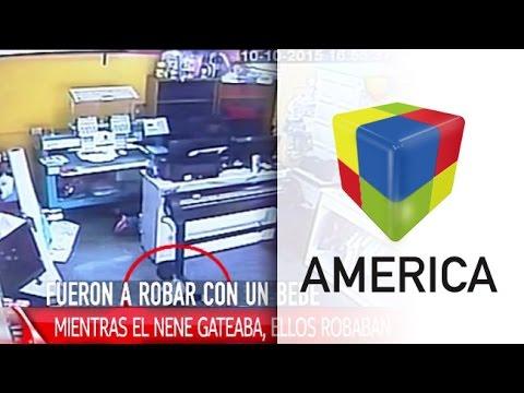 Indignante: Entraron a robar con un bebé