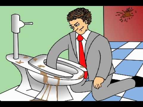 man takes a poop man takes a poop