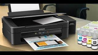 Cara Manual Cleaning / Pembersihan Head || Nozzle Check test warna Printer Epson Pakai tombol