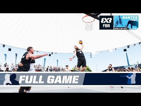 New Zealand survive vs. South Korea in overtime - Full Game - FIBA 3x3 World Cup 2017