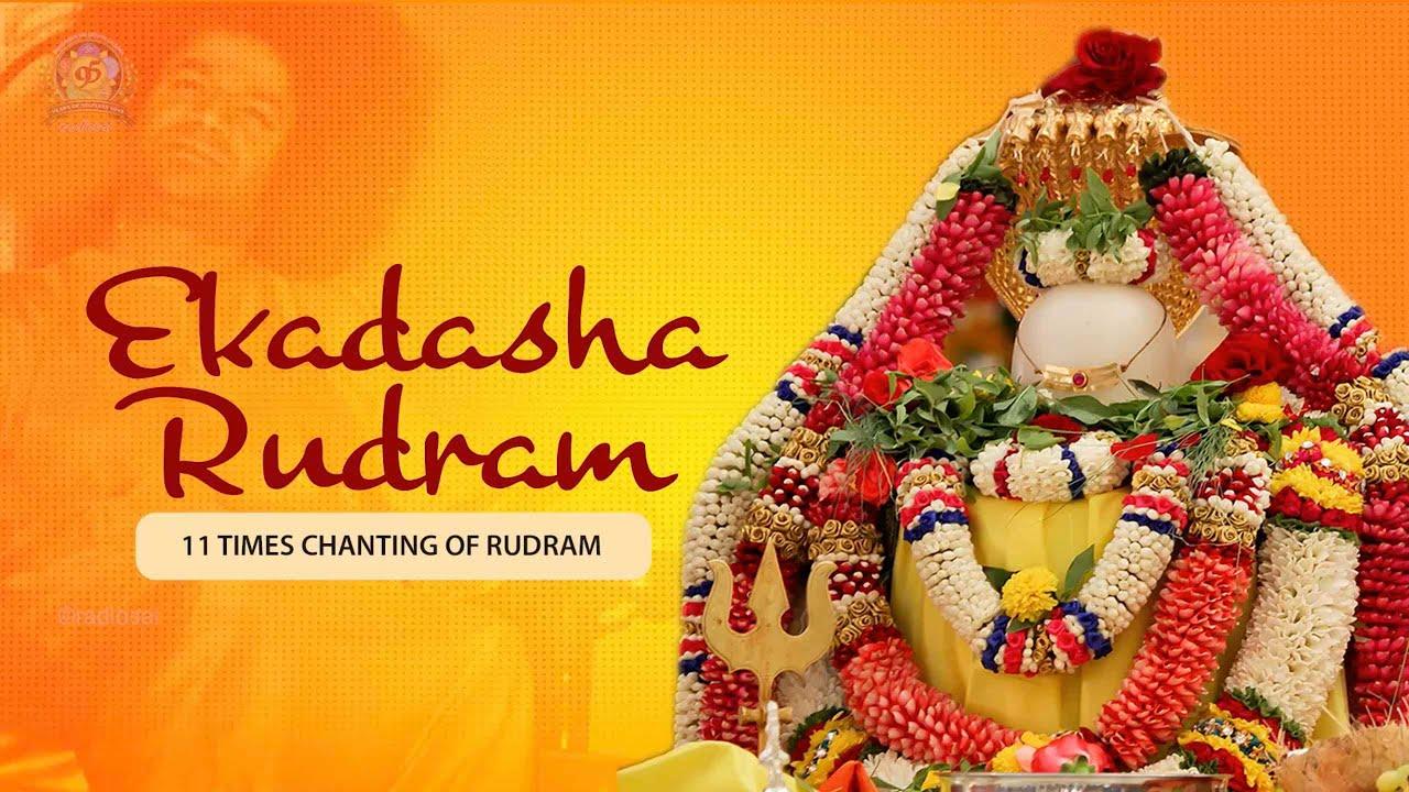 Download Ekadasha Rudram | 11 Times Chanting of Rudram | Powerful Rudram Chanting
