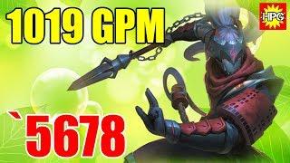 HoN Monkey King Shinobi Gameplay - `5678 - Immortal - Casual Mode