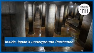 Inside Japan's massive underground reservoir for flood control